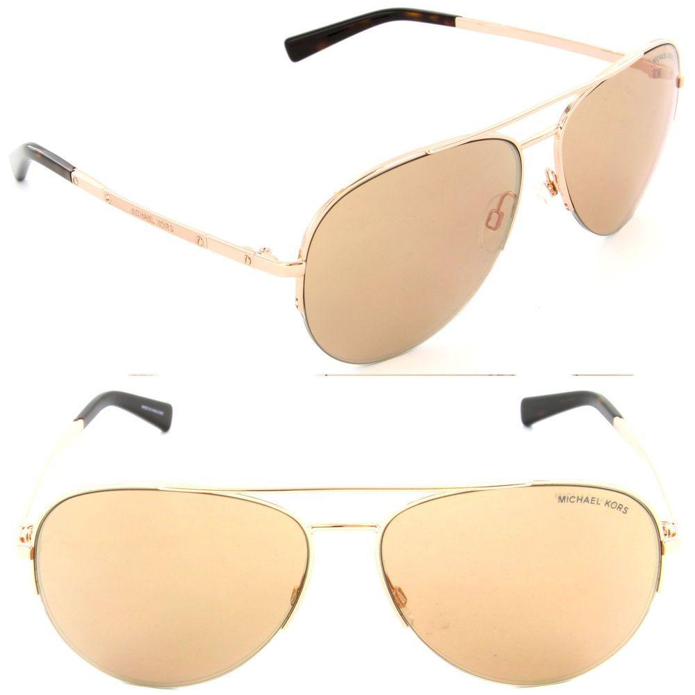 b6a459d69a429 Michael Kors Sunglasses Gramercy MK 1001 1021 R1 Rose Gold   Rose Gold  Flash Len  MichaelKors  Aviator