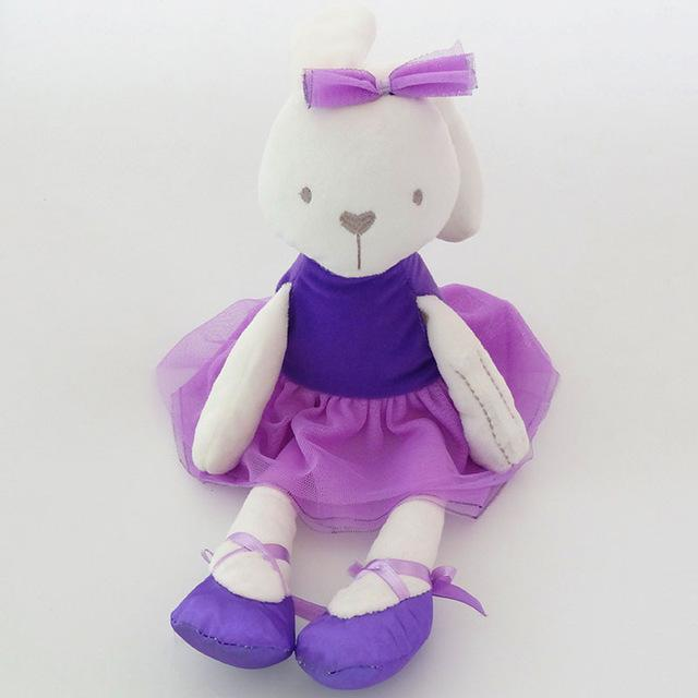 Cute Easter Bunny Soft Plush Rabbit Stuffed Animal Toy Appease Baby Bed Pillow Toy Kids Baby Girl #bearbedpillowdolls