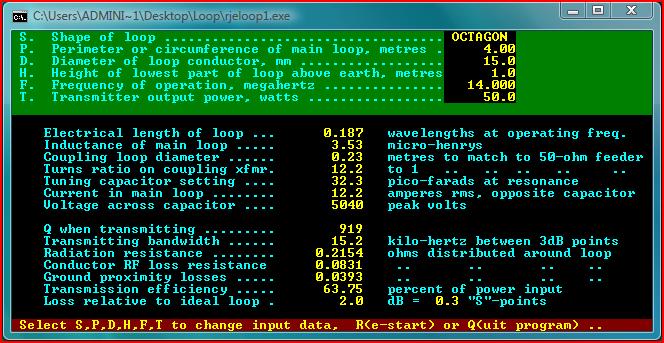 Magnetic loop software calculator hamradio pinterest software magnetic loop software calculator greentooth Gallery