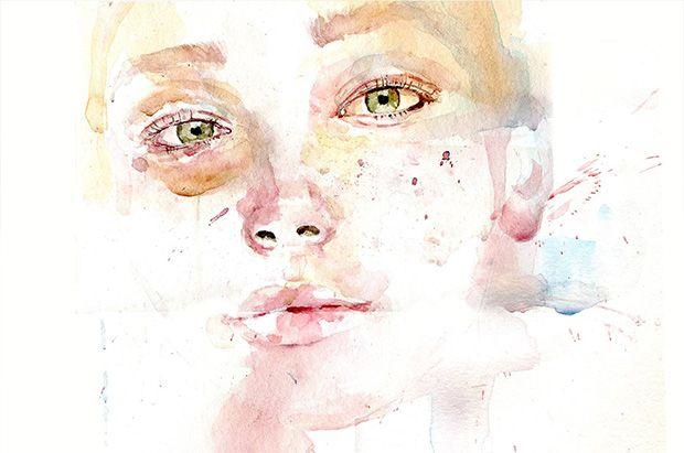 Watercolor portrait - Fall Leaves  #watercolor#fall leaves#loos#loosewatercolor#earthy#moreearth#aquarelle#expressionism#expression#portrait#youtube#tessazalea#tasnimrawashdeh#tess#azalea#artists on tumblr#portraiture#contemporaryart #watercolours #acuarelas #aquarellepainting #art