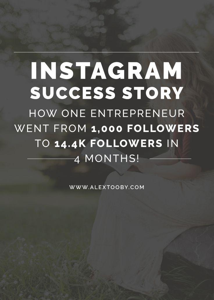 Instagram Success Story 1,000 to 14.4k followers in 4