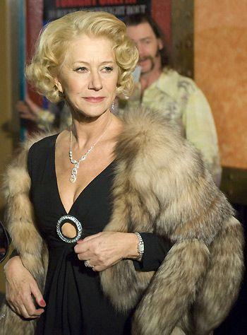 Helen Mirren In Love Ranch 2010 Vedettes Vison Piel Sintetica Showgirls
