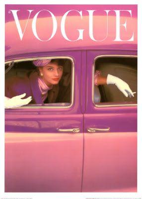 Park Model: Capas de revistas de Moda nos anos 50