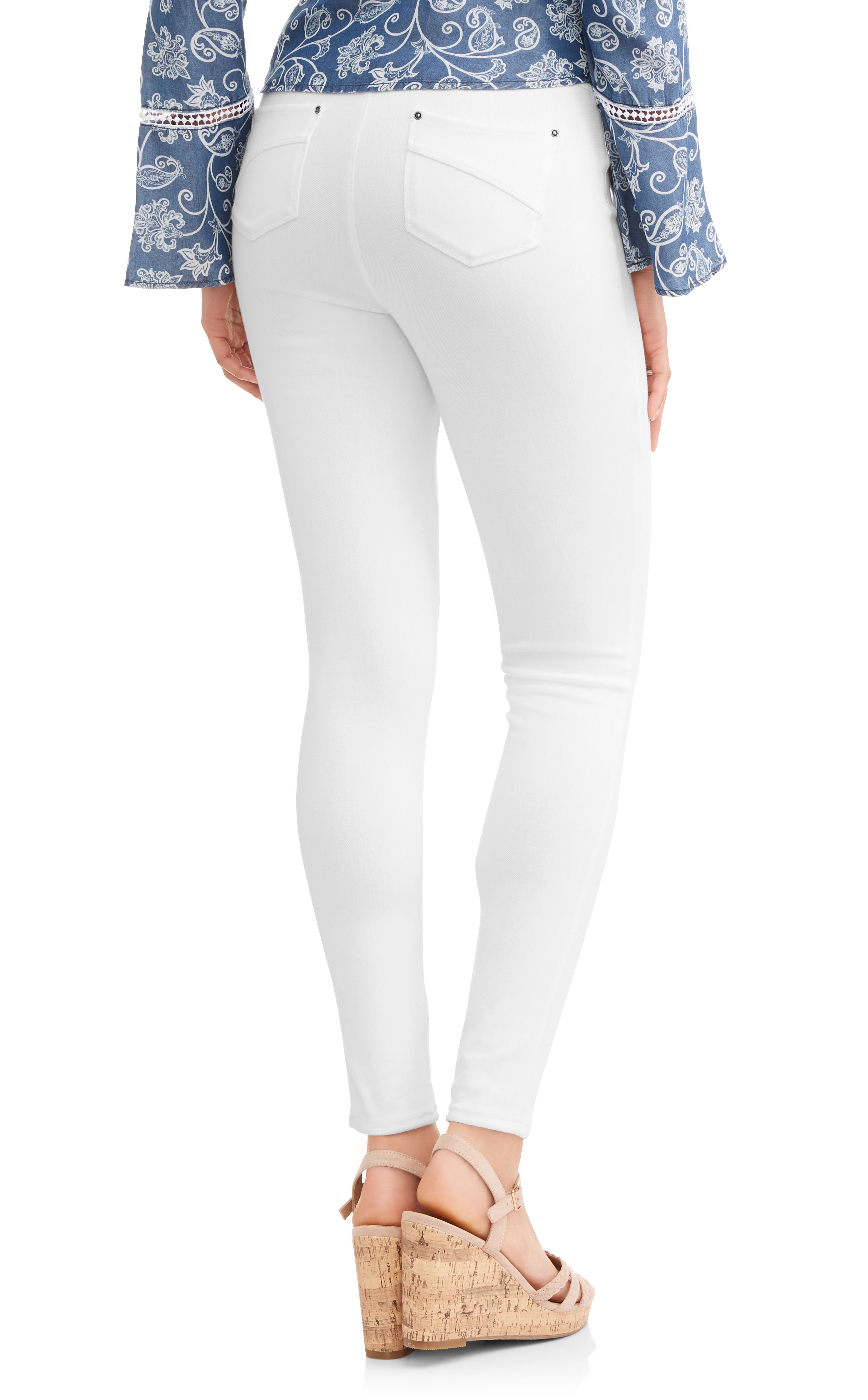 c765b88ce1ad89 Time and Tru Women's Full Length Soft Knit Color Jegging#Women, #Full, #Time