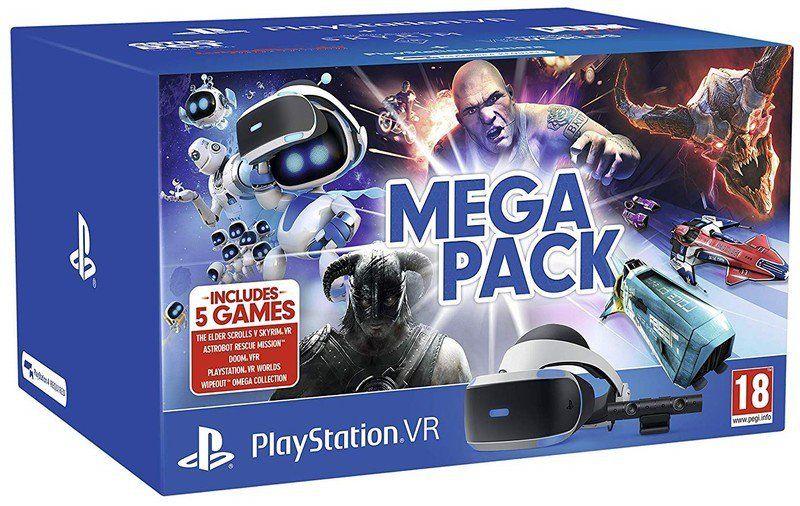Sony Playstation Vr Mega Pack Bundle 269 99 In 2020 Playstation Vr Playstation Sony Playstation Vr