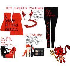 devil costume diy - Google Search