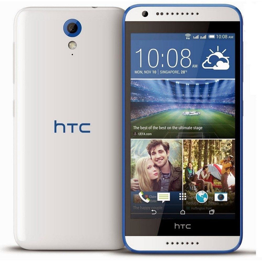Buy HTC Desire 620G Dual Sim White-Blue Online in UAE, Dubai