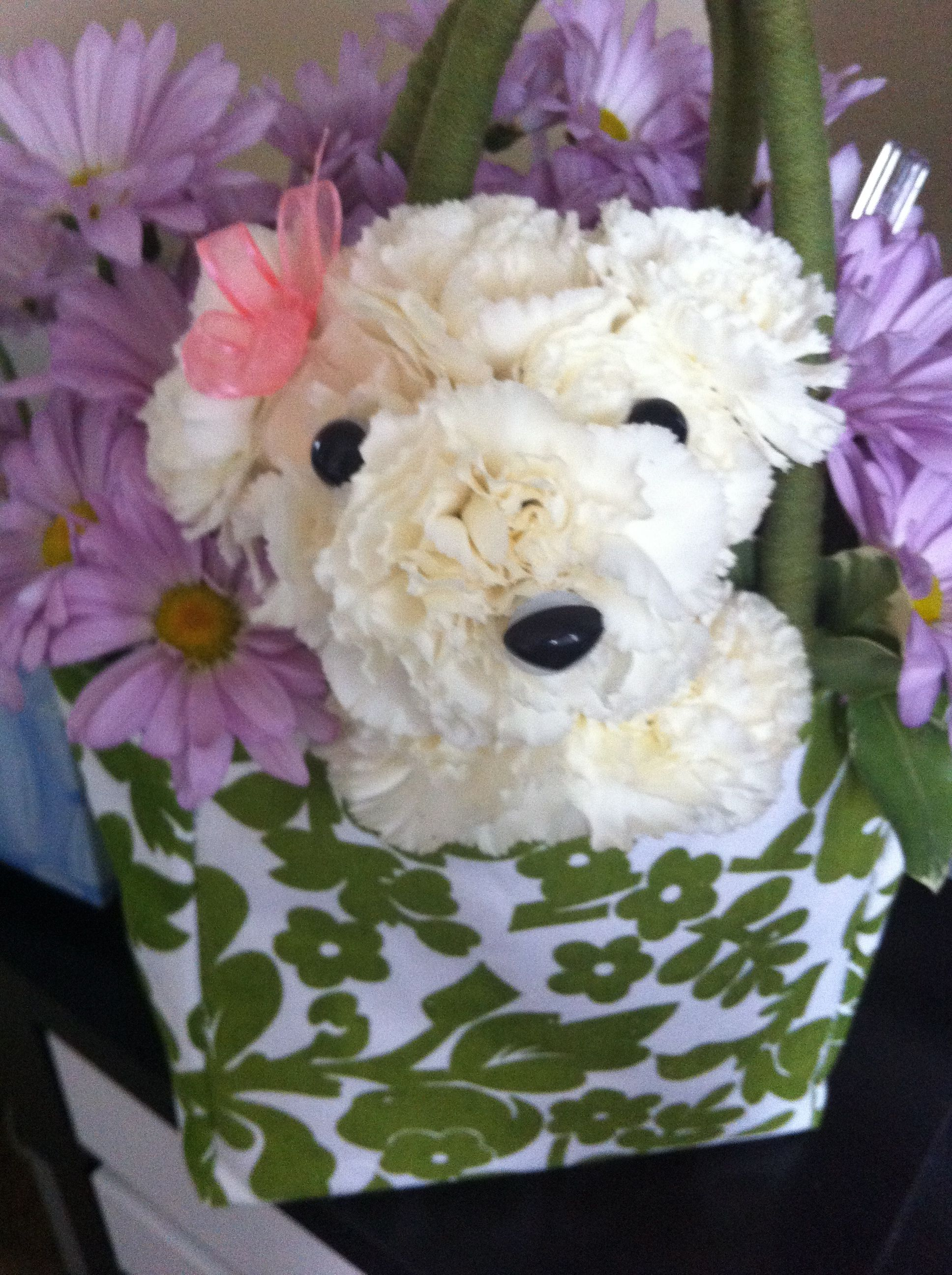 Teddy bear flower arrangement creative ideas pinterest flower teddy bear flower arrangement izmirmasajfo Gallery