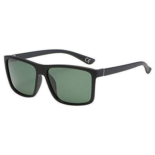 ATTCL Herren Polarisierte Treiber Glasses Sport Sonnenbrille Al-Mg Metallrahme Ultra leicht 8177 Black-BLUE QULrq