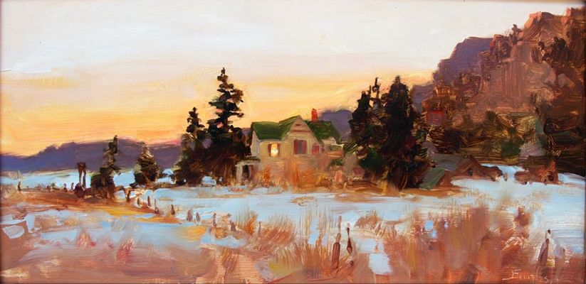 Kim English, 1957 ~ American Plein-air painter