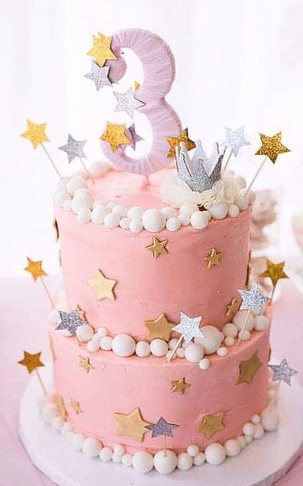Cool Twinkle Twinkle Little Star Birthday Cake With Images Star Personalised Birthday Cards Veneteletsinfo