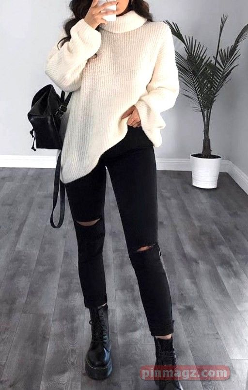 Elegant Winter Outfits Ideas To Wear Right Now - P