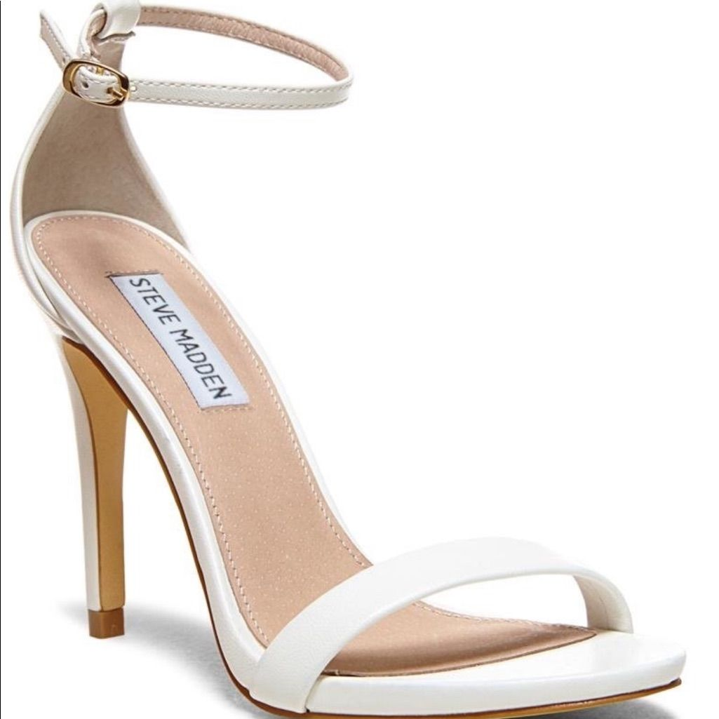 Steve Madden Stecy Single Strap Heel Sandals Homecoming Shoes Heels Sandals Heels