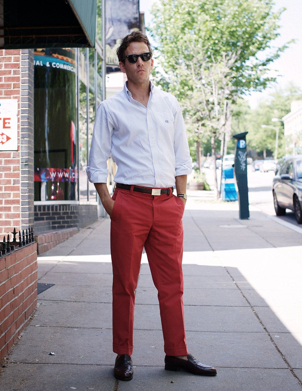 db3d378c8f131 slim nantucket red chinos, another essential find | Style | Red ...
