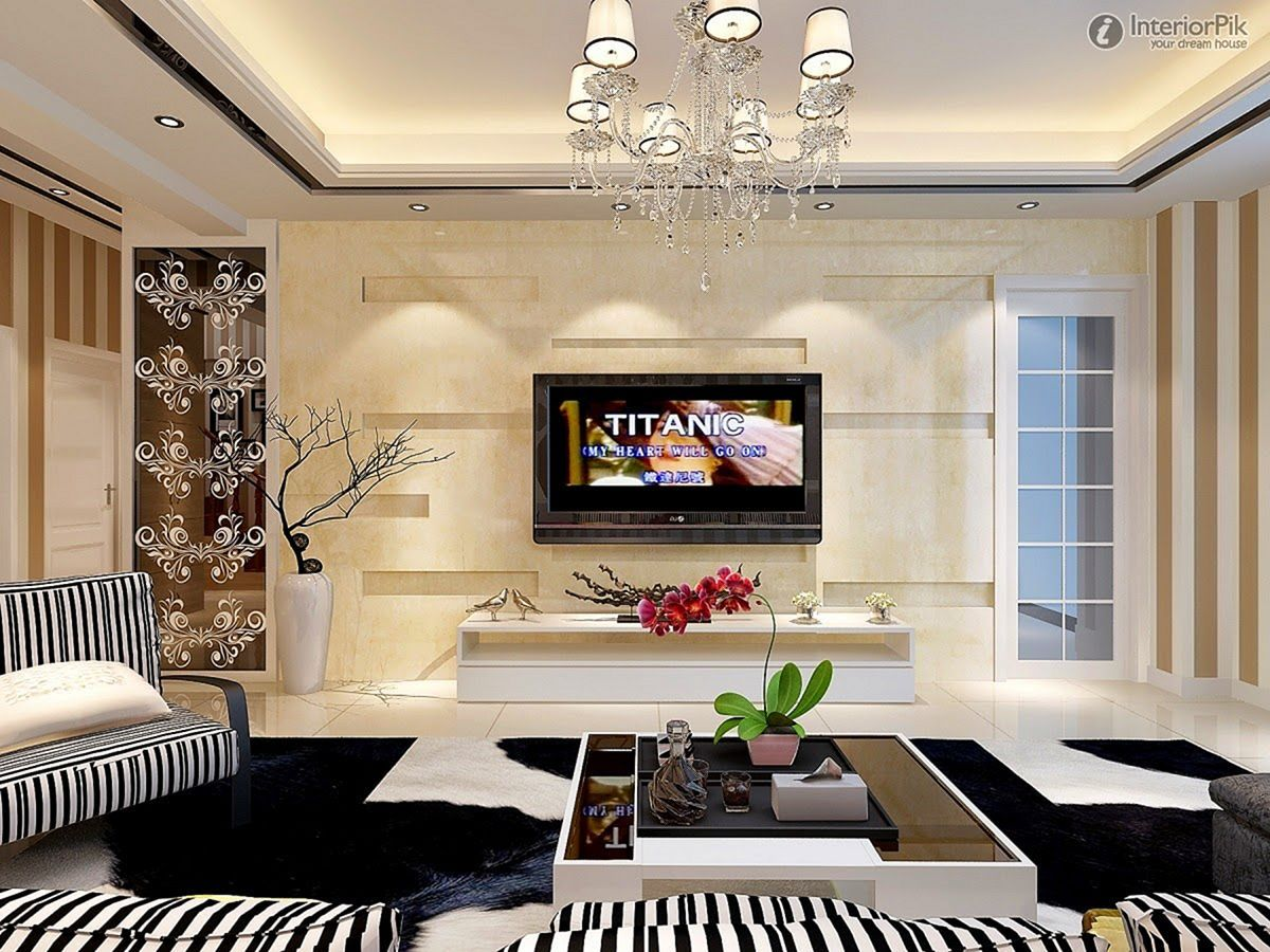 23 Modern Living Room With Television For Beauty Your Home Design Living Room Design Modern Living Room Tv Wall Living Room Designs
