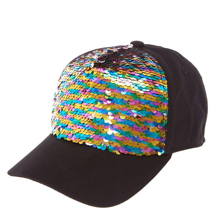 93683a234 JoJo Siwa Rainbow Reversible Sequin Baseball Cap | Accessories ...
