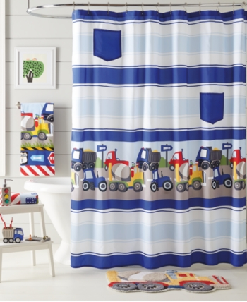 Dream Factory Trains And Trucks Shower Curtain Reviews Shower
