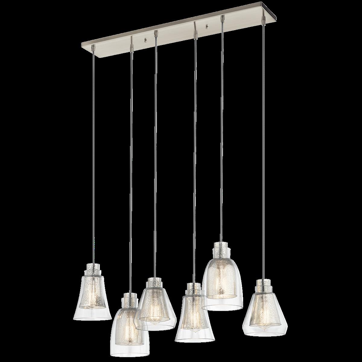 Kitchen chandelier 1 table evie 6 light chandelier brushed kitchen chandelier 1 table evie 6 light chandelier brushed nickel ni arubaitofo Images