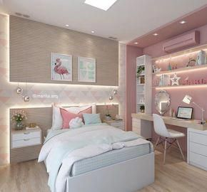 20 Bedroom Color Ideas To Make Your Room Awesome Houseminds In 2020 Pink Bedroom Design Bedroom Wall Colors Girl Bedroom Designs