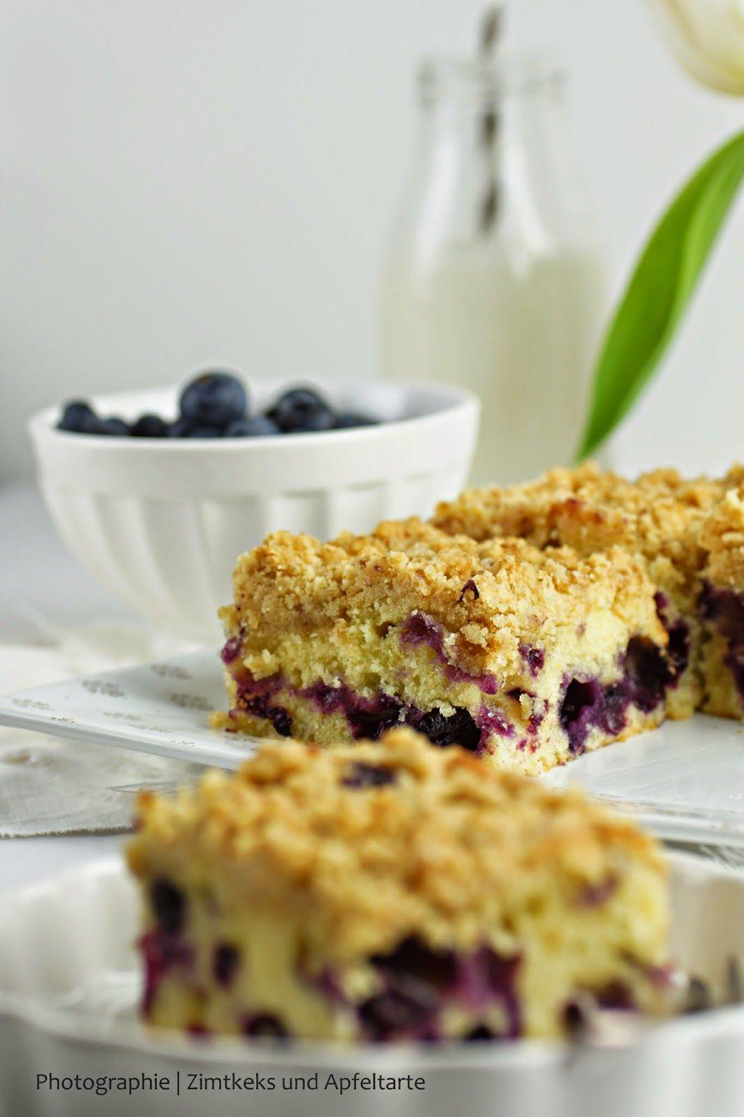 Zitronen Schmand Kuchen Mit Blaubeeren Und Streuseln Musst Ihr