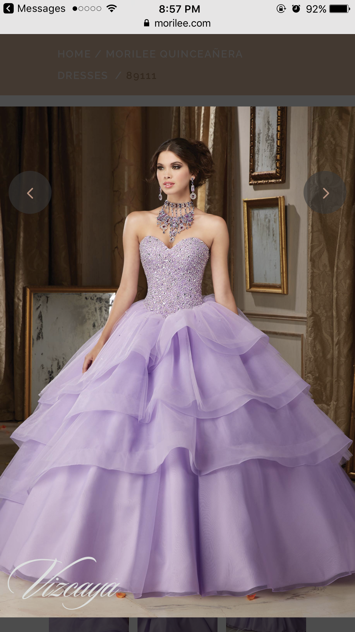 Fashion style White and purple quinceanera dresses for girls
