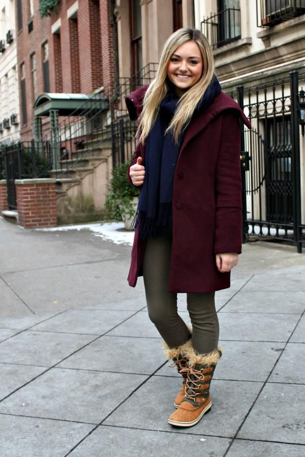 Bundled Up Street Style In Sorel Winter Outfits