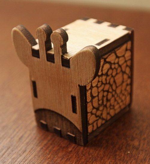 敲敲木-動物音樂盒(長頸鹿)