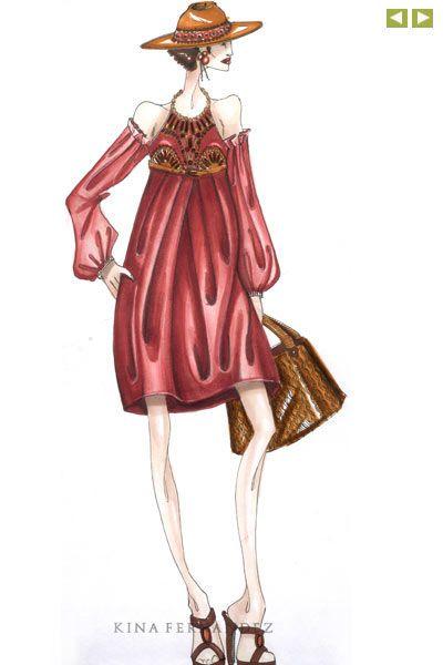 Bocetos De Moda Chanel Buscar Con Google Ilustracion Moda