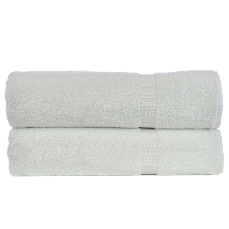 Luxury Hotel And Spa Towel Turkish Cotton Washcloths-Gray-Dobby Border-Set of 12