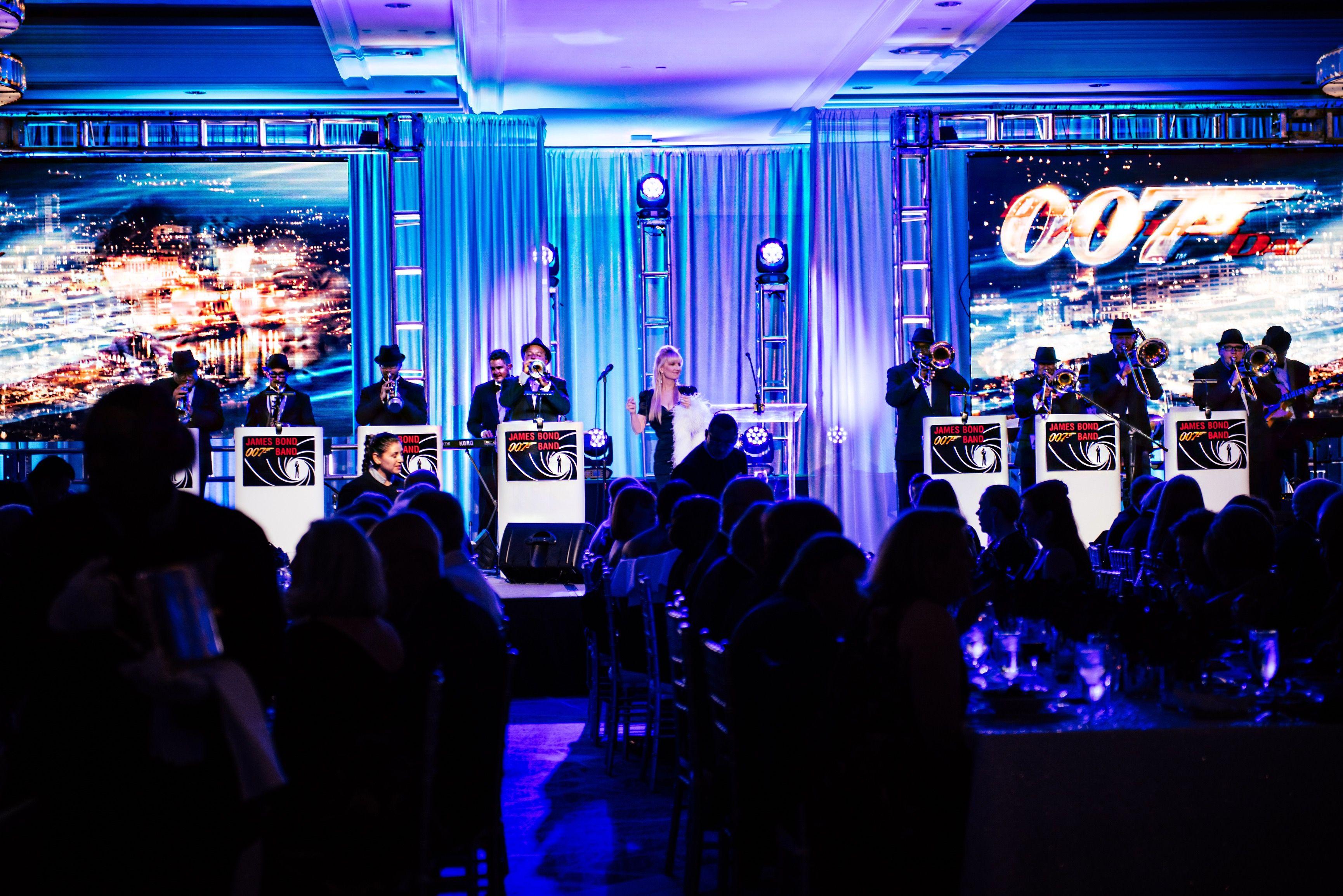 James Bond Band, the 007 Bond Band from Orlando, Florida