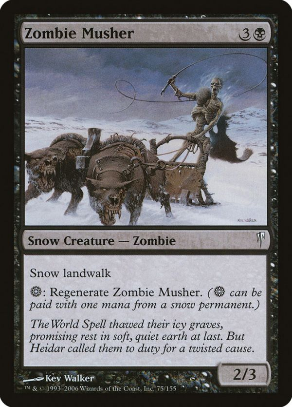 Zombie Musher Musher Zombie The Gathering Instead tap it, remove all damage from it, and remove it from combat.) zombie musher musher zombie the