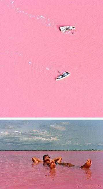 Senegal's Lake Retba (Lac Rose)