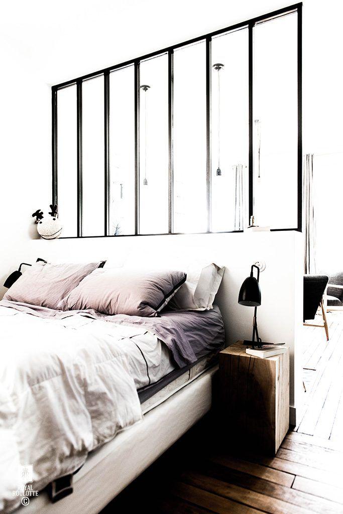 Leuk idee om de slaapkamer en de woonkamer te scheiden   HÁLÓ ÉS ...