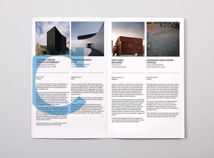 Txell Gracia Brochure  Graphic Design    Brochures
