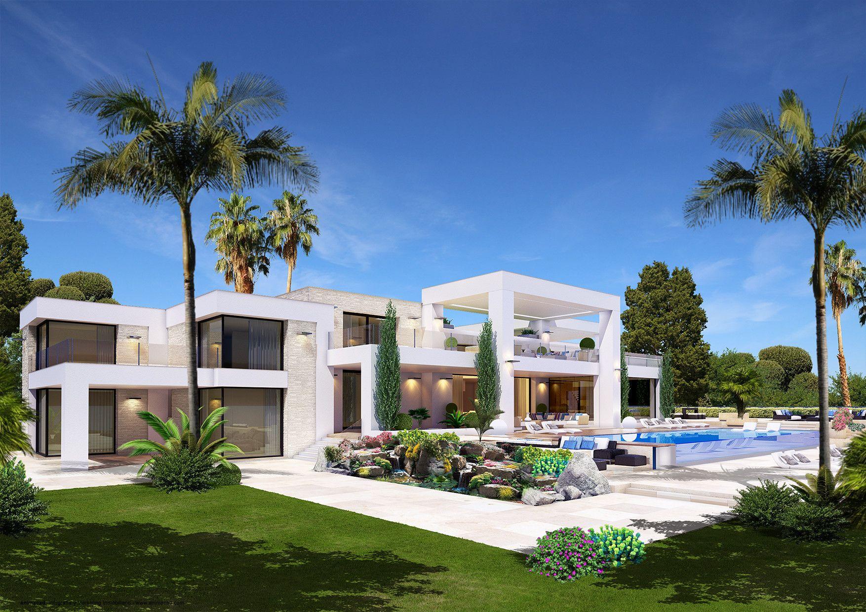 animacad Exterior 3D Marbella La Perla Blanca Vista 6   animacad ...