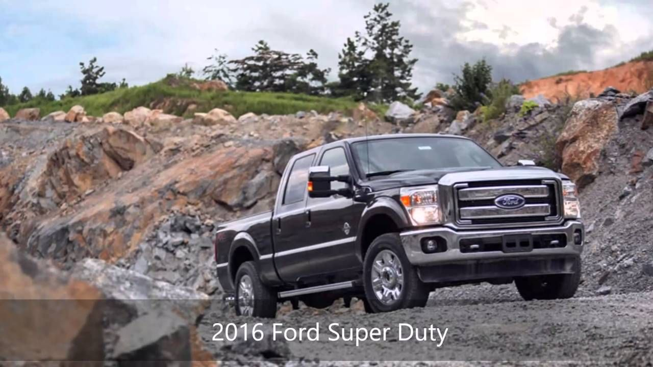 2016 Ford Super Duty At Tallahassee Ford Lincoln Serving Lakeside