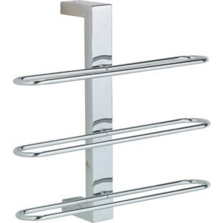 buy wall mounted towel rack chrome at your. Black Bedroom Furniture Sets. Home Design Ideas