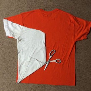 Easy No-sew Recycled Dog T-shirt