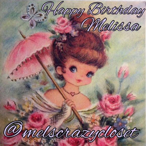 Happy Birthday Melissa Melscrazycloset Hello Vixens Today