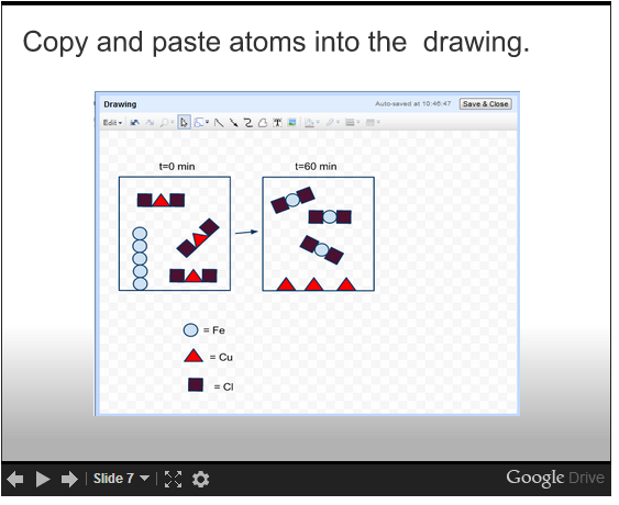 Google Docs Chemistry Creating Particulate Level Diagrams With