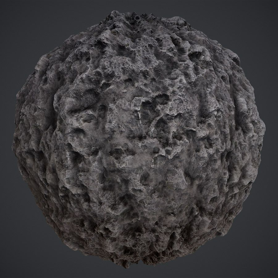 Pocked Stone PBR Material Game design, All video games