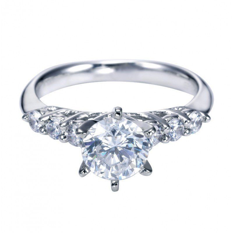 collection the rings platinum hidden stone brilliant engagement ring image eternity diamond cut