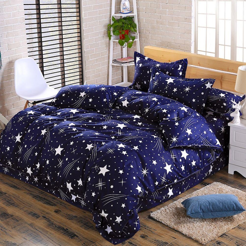 D Interiors Mała Sypialnia: Luxury Duvet Cover Bedding Set With Duvet Cover Pillow