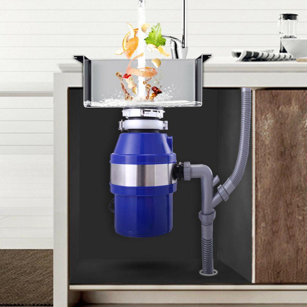 1 2 hp sink garbage food waste disposer