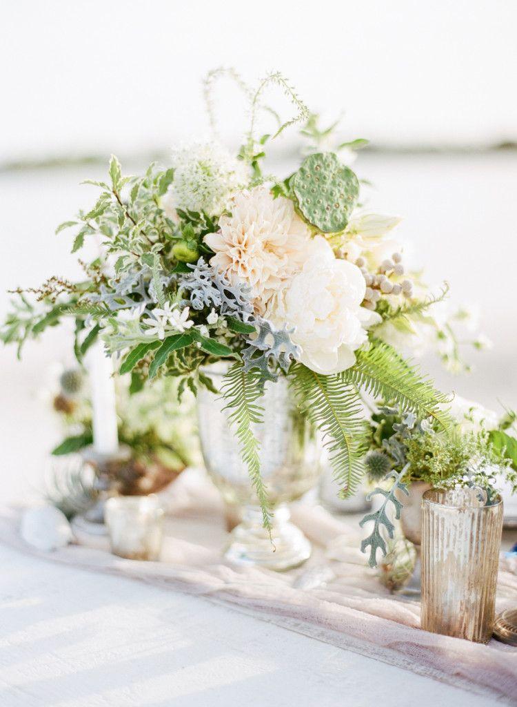 pink dahlia, wedding florals, nautical theme wedding