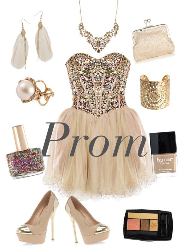"""Single prom girl"" by manbuboo ❤ liked on Polyvore"