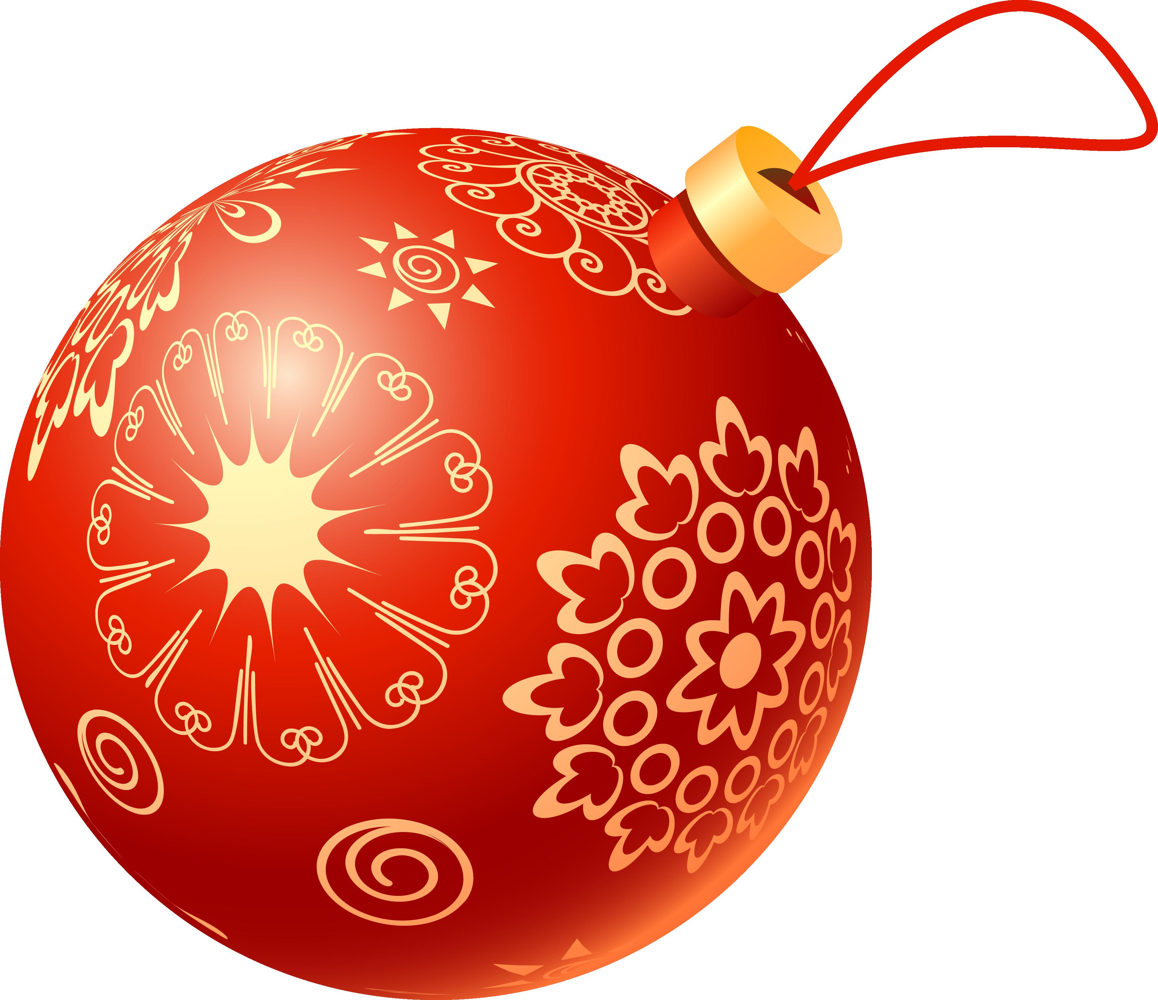 Картинка шарик елочный