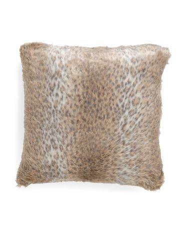 Nicole Miller Faux Fur Leopard Throw Pillow Home ביתה Pinterest Fascinating Nicole Miller Decorative Pillows