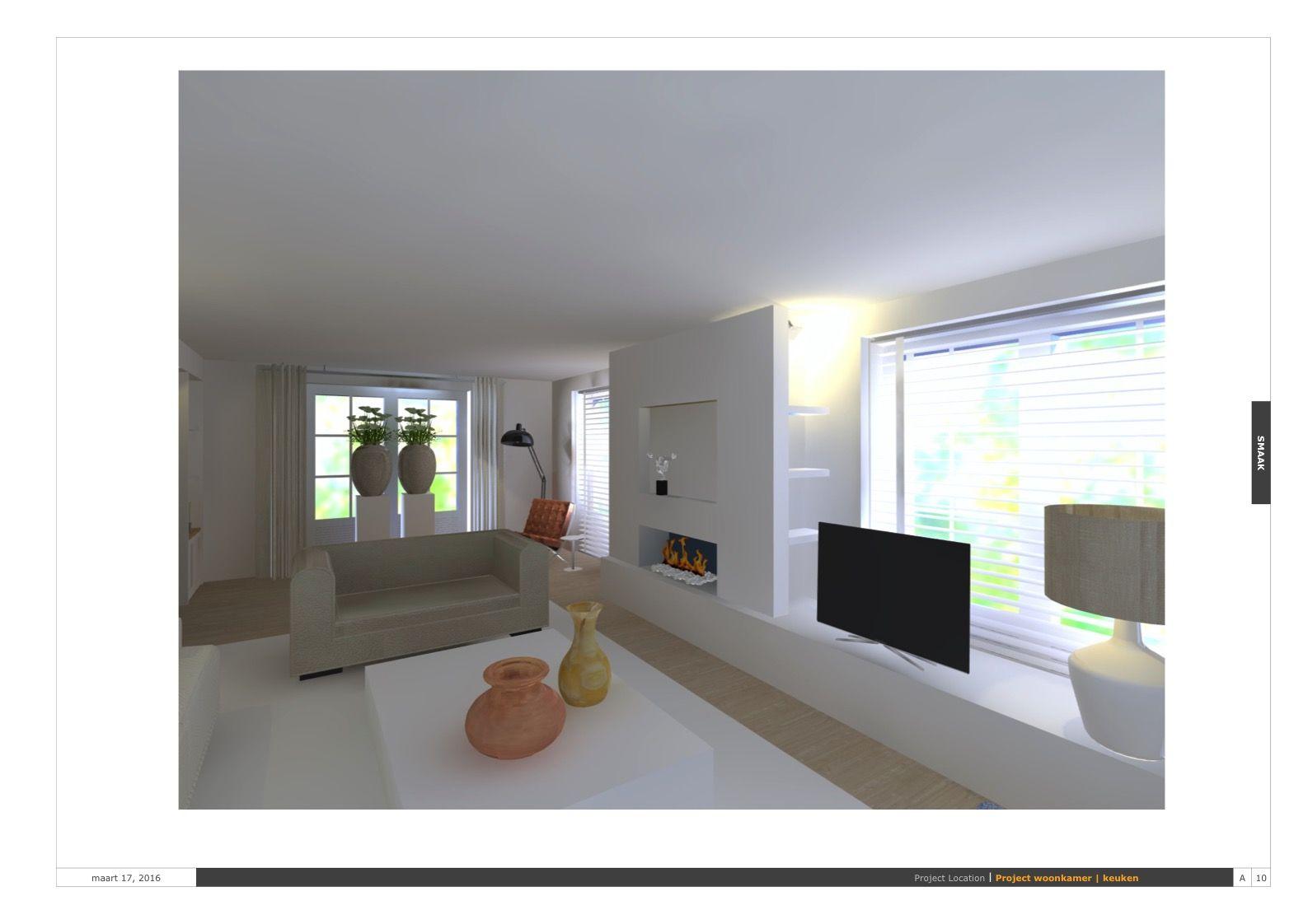 3D ontwerp woonkamer | Ontwerpen | Pinterest