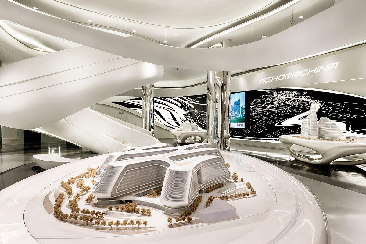 Zaha hadid architects shanghai showroom google suche architecture architektur - Zaha hadid architektur ...
